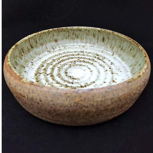 Handmade Tapas Pottery Bowl-White