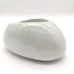 Green White Cobble Stone Bowls-12