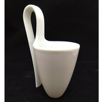 Green White Ladle Cup Six Forms - Single Cup S1