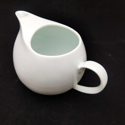 Green White Cobblestone Ice Teapot