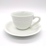 Green White Feitian Coffee Cup