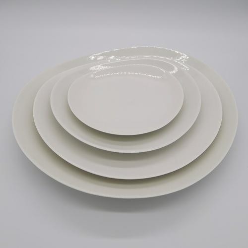 Bone China Free Loops Plate - 15cm
