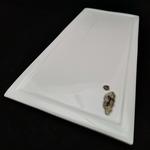 Green White Japanese Landscapes Flat Plates 2nd Edition - Rectangular