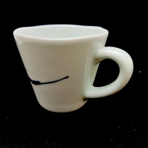 China Blue Handmade Mug - Large