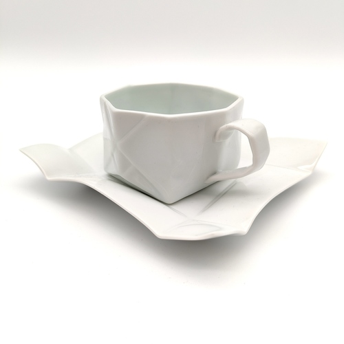 Green White Paper Ball Coffee Cup