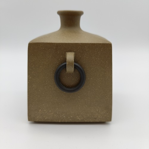 Zisha Single-Ring Vase