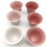 Pinky Pink Tea-smelling Cup Set