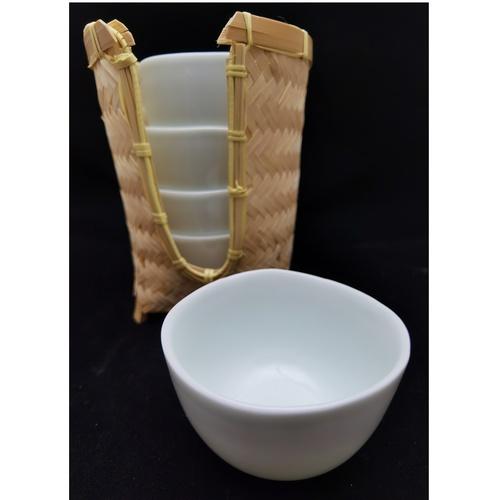 Handmade Green Tea Cup Set - 1st Edition