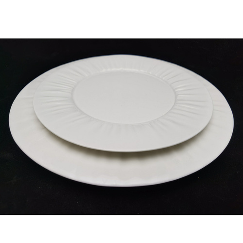 Lace Reinforced Round Plates 270mm