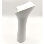 Green White Calla Candle Stands-Tall
