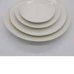 Bone China Free Loops Plate - 27cm