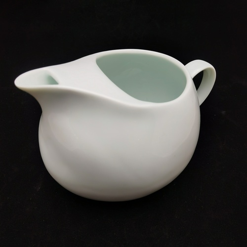 Green White Cobblestone Ice Teapot