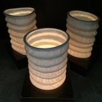WB Chinese Paper Lantern Candle Lamps-S4 Oval