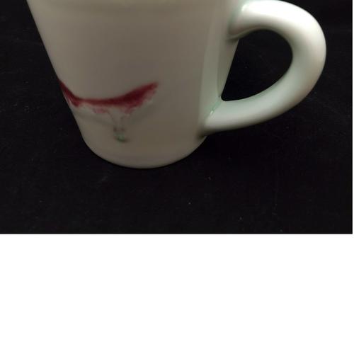 Underglaze Red Handmade Mug - Large