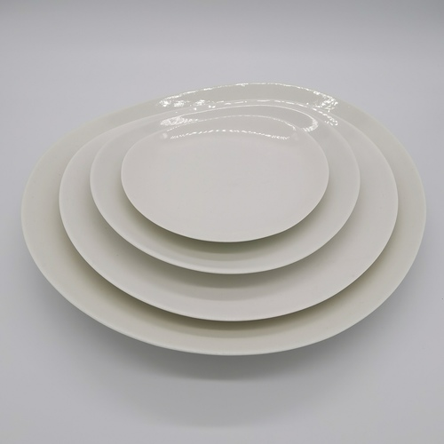 Bone China Free Loops Plate - 21cm