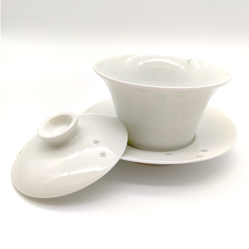 Square Ling-Long Chinese Tea Cup II-Each
