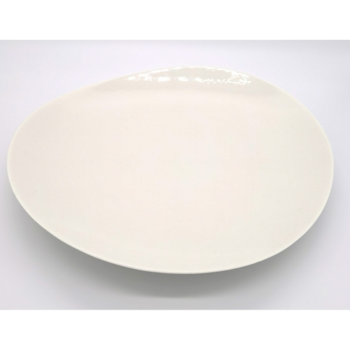 Bone China Free Loops Plate - 33cm
