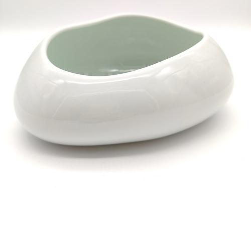Green White Cobble Stone Bowls-14