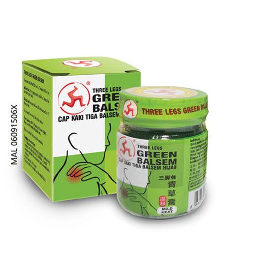 THREE LEGS GREEN BALSEM 20G