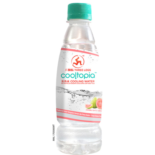 THREE LEGS COOLTOPIA COOLING WATER - GUAVA- 320ML