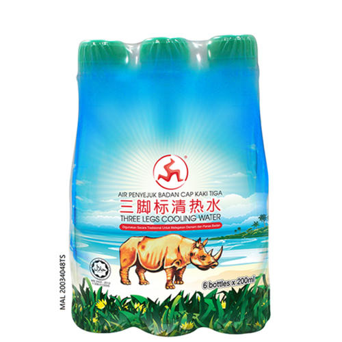 THREE LEGS COOLING WATER 200ML X 6