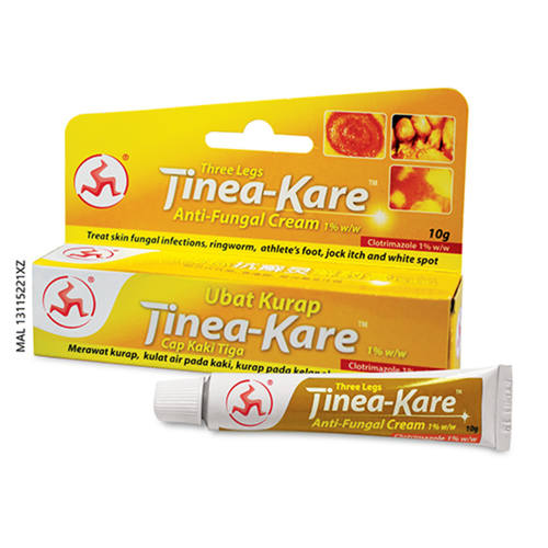THREE LEGS TINEA - KARE ANTIFUNGAL CREAM 10G