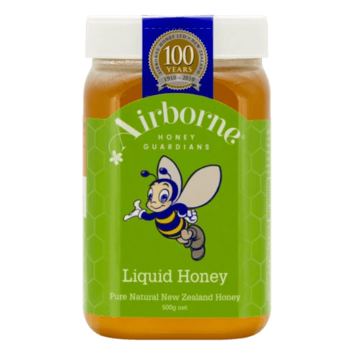 Airborne Classic Liquid Honey 500g