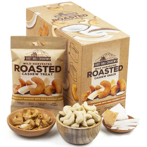 East Bali Cashews Roasted 35g