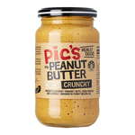 Pics Peanut Butter Crunchy No Salt 380g