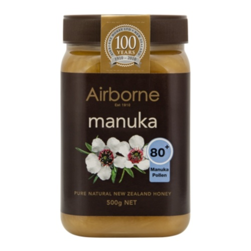 Airborne Health Manuka 80+ Honey 500g