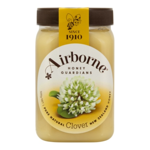 Airborne Floral Creamed Clover Honey 500g