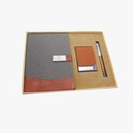 Pen, Notebook & Card Holder Set