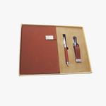 Pen, Notebook & Keychain Set