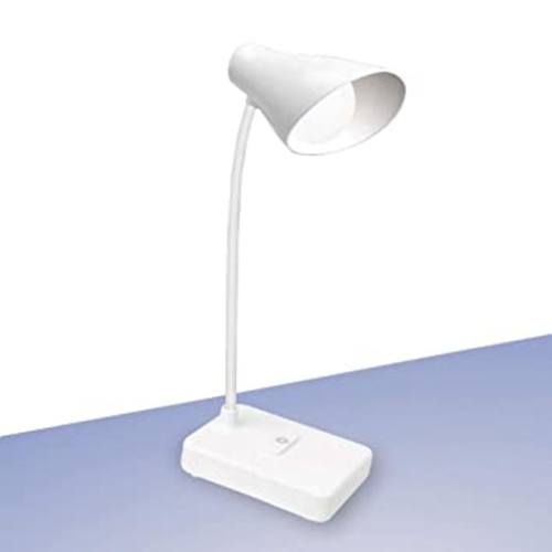 Brighto Rechargeable LED lamp with mobile stand  3 Color light  Brightness adjustment