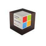 Wooden Cube Trophy