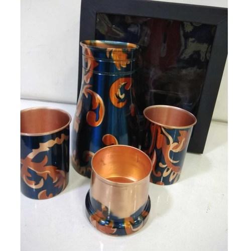 Room Jar & Glass Set