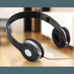 Folding Stereo Headphones