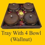 Tray With 4 Bowl