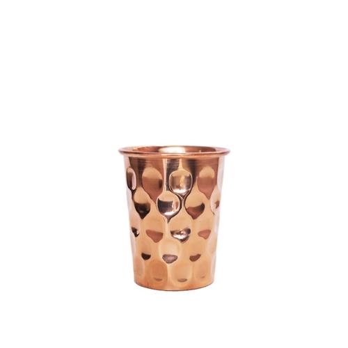 Copper Bottle & Glass Set