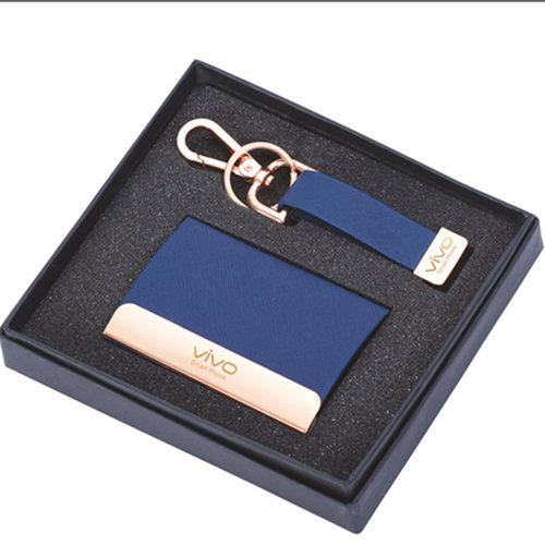 Card Holder & Key Chain Set