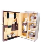 Leather Whiskey Essentials Gift Set