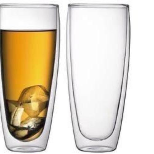 Double Wall Long Glass