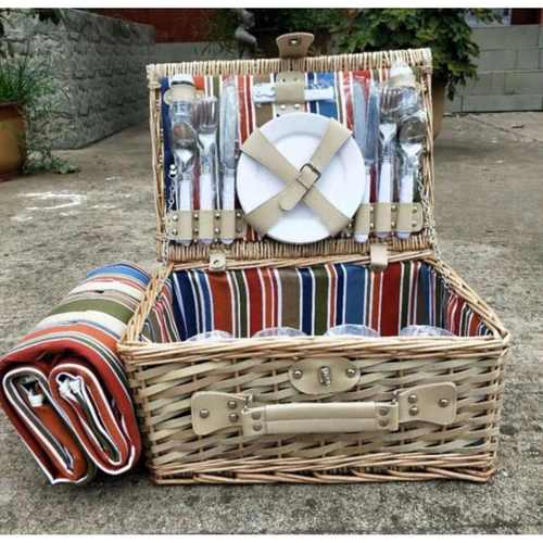 Willow Picnic basket for 4 person