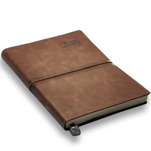 Natural Leather Diary