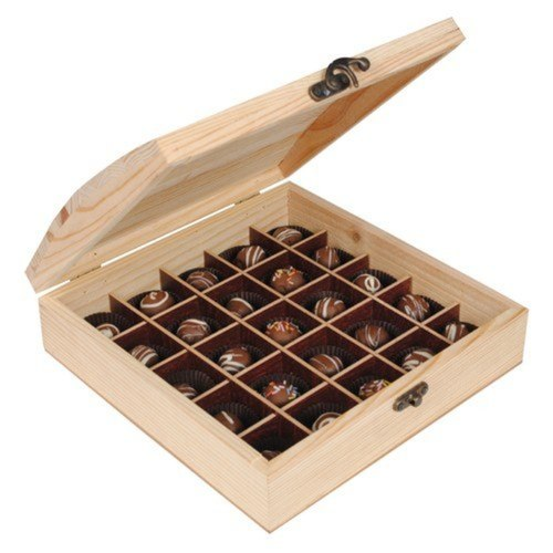 Pine Chocolate Box