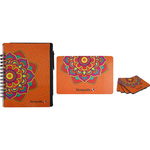 Spiral Notebook with Pen, Mouse Pad & Coasters