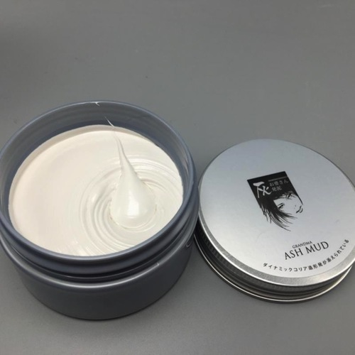 White hair wax