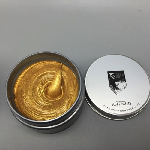 Gold colour wax