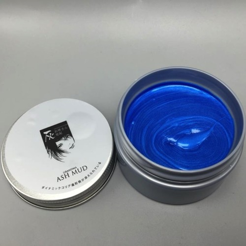 Blue colour wax