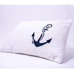 """""""Sailing Boats"""" Organic Baby Pillow"""